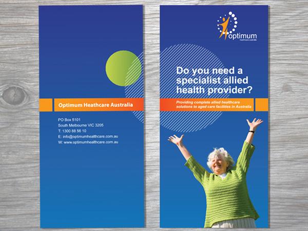 Sean Walsh Graphic Design  Healthcare Brochure Design